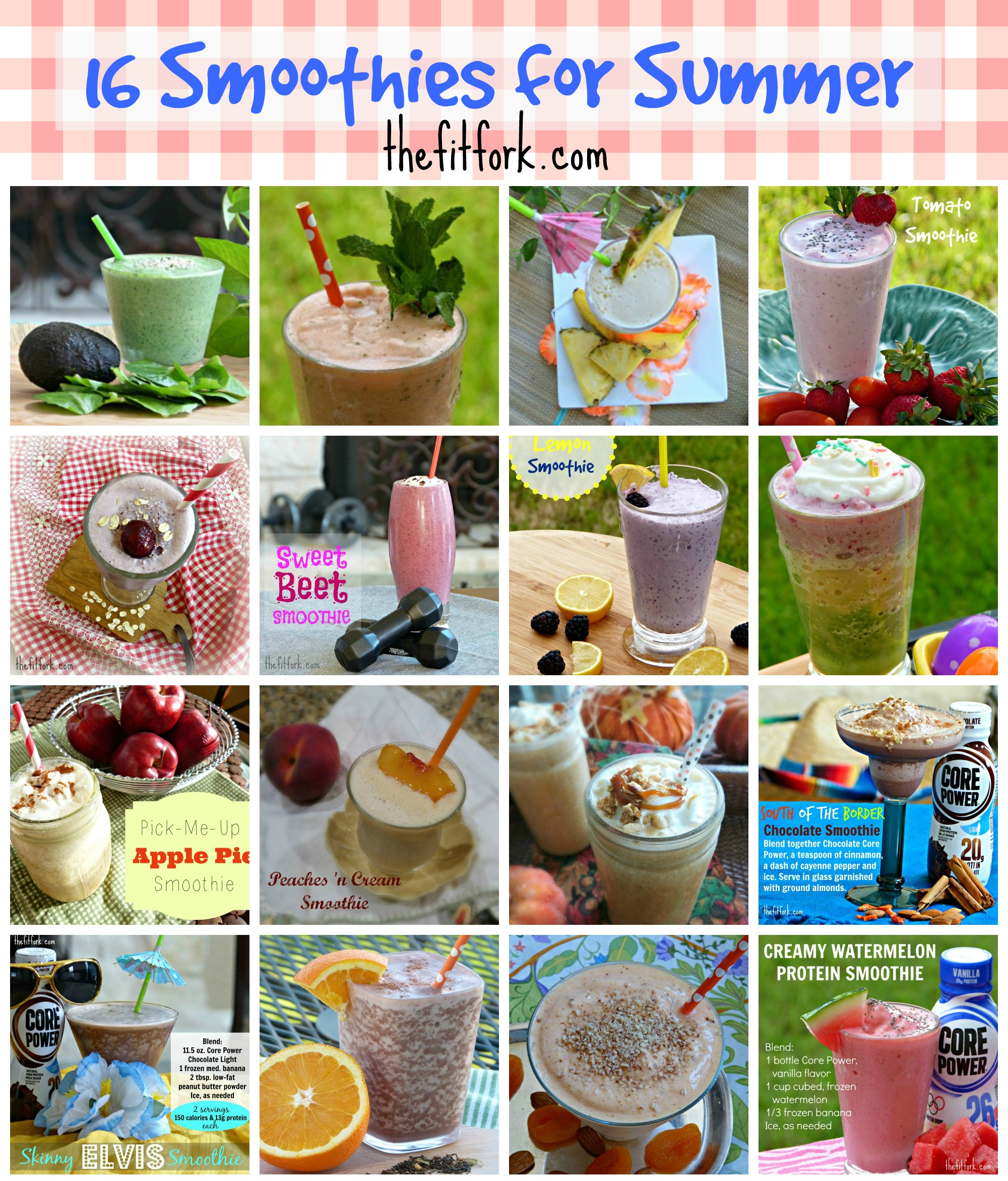gallery of smoothies