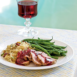 pork tenderloin with blackberry sage