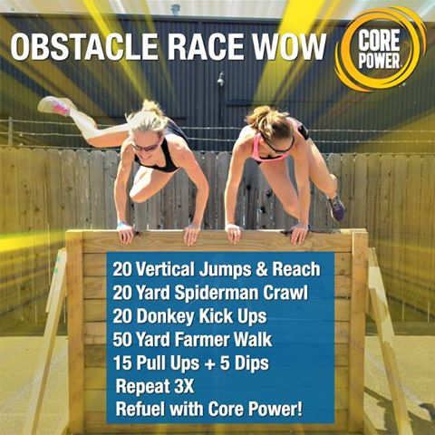 Core Power Workout