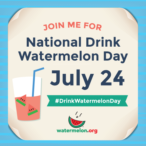 july 24 drink watermelon badge
