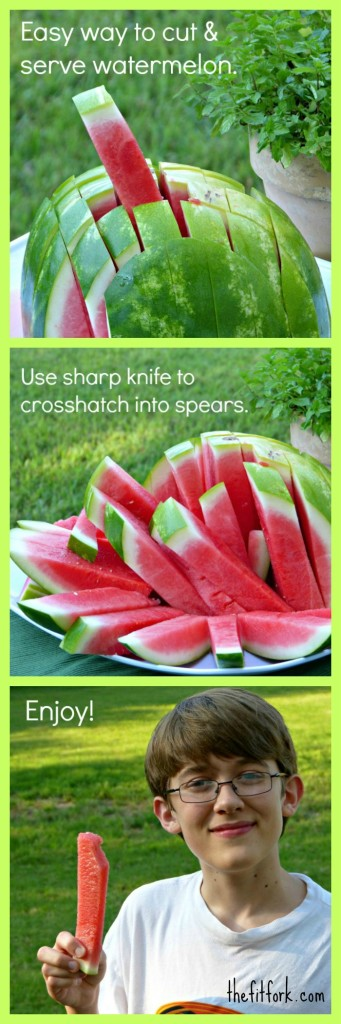 watermelon cutting tip