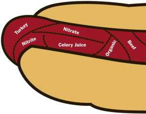 hotdog ingredients