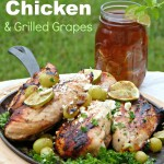 Lemon-Lime Chicken & Grilled Grapes – Love the One You're With