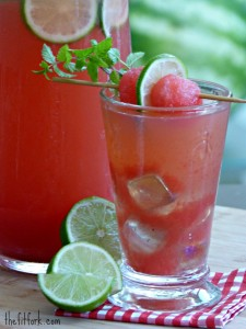 low sugar watermelon drink for hydration