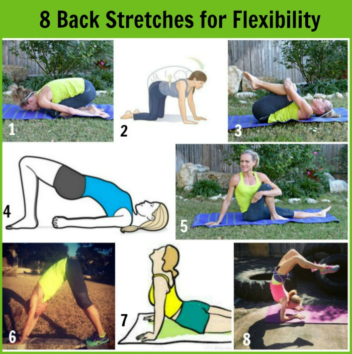 how to get a more flexible back with stretching