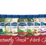 8 Healthier Herbed Snacks + Instantly Fresh Herb #Giveaway