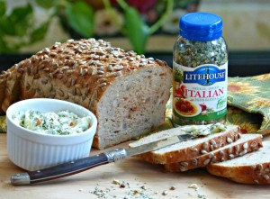 litehouse jennifer fisher bread and iitalian herb butter panini 700