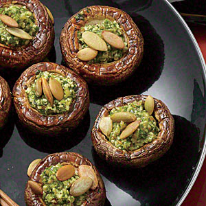 stuffed mushroom recipe from Cooking Light that looks delish is ...