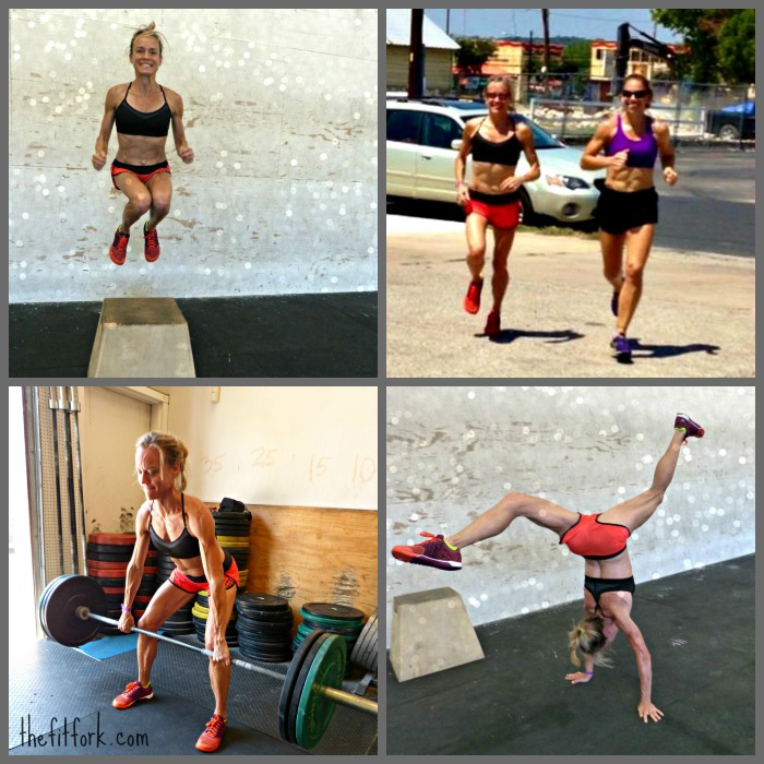 collage of crossfit box pictures