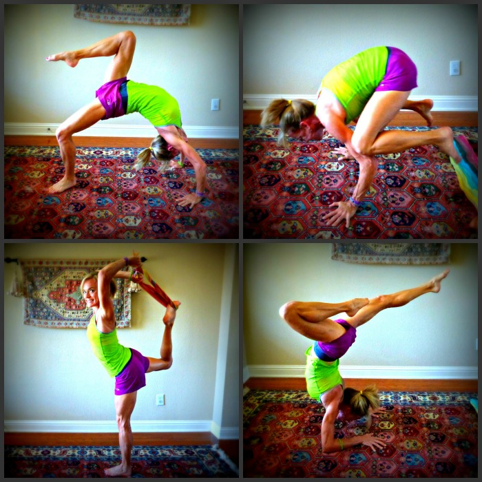 icebreaker merino wool shorts and tank for yoga