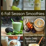 Six Fall Season Smoothie Recipes