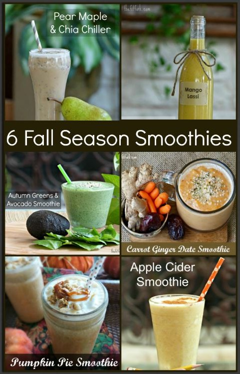 smoothie recipes for autumn