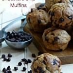Skinny Banana Chocolate Chip Muffin Recipe