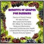 Great Grapes! An Awesome Fall Fruit for Running & Recipes
