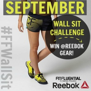 fitfluential wall sit challenge