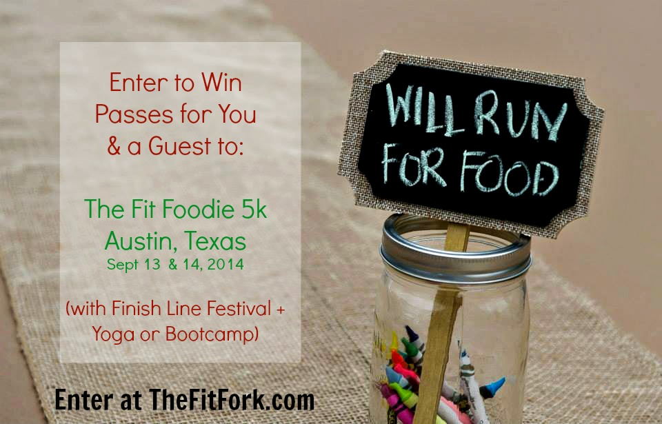 fitfoodie will run for food enter giveaway