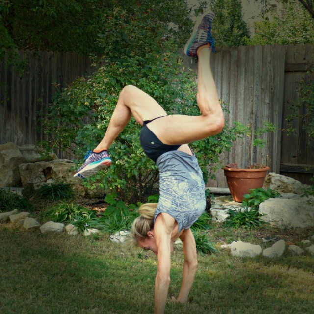 yoga handstand pose jennifer fisher