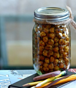 roast chickpeas for a crunch healthy snack