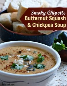 southwestern creamy butternut squash soup recipe