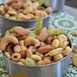 """So Nutty"" Slow Cooker Snack Mix Recipe"