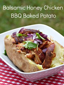 loaded bbq chicken baked potato