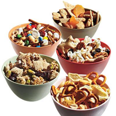 cooking light snack mix