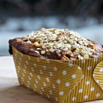 White Chocolate Pumpkin Oat Bread (Gluten-Free)