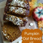 White Chocolate Pumpkin Oat Bread & #LoveYourAge Inspiration