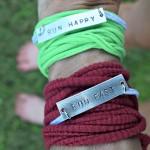 RUN HAPPY & RUN FAST + Motivational Fitness Jewelry #Giveaway