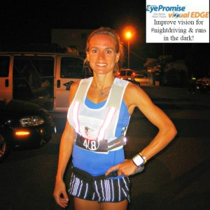 Jennifer Fisher Hood To Coast Relay - @EyePromise VizualEdge for night running
