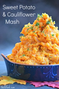 Sweet Potato & Cauliflower Mash - TheFitFork.com