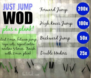 Jump Rope WOD - Travel or Hotel Workout