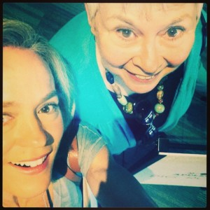 Jennifer & Mom at Prevention R3 Summit