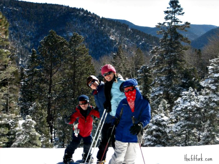Active Family Vacation -- Skiing