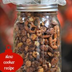 {Slow Cooker} Salted Caramel Chocolate Crunch Holiday Gift Recipe