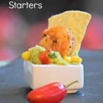 Southwestern Shrimp & Guacamole Starters + Avocados & Athletes