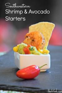 Southwestern Shrimp & Avocado Starters - TheFitFork.com