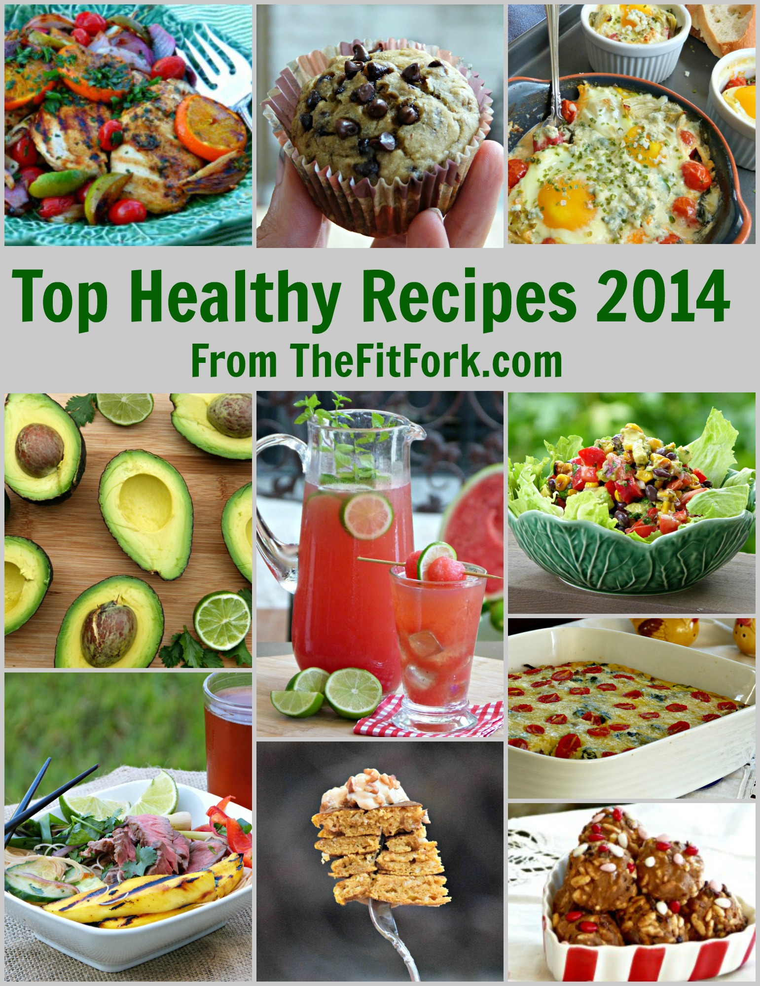 Top Healthy Recipes of 2014 from TheFitFork.com