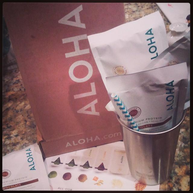 Aloha Premium Protein Powder - TheFitFork.com