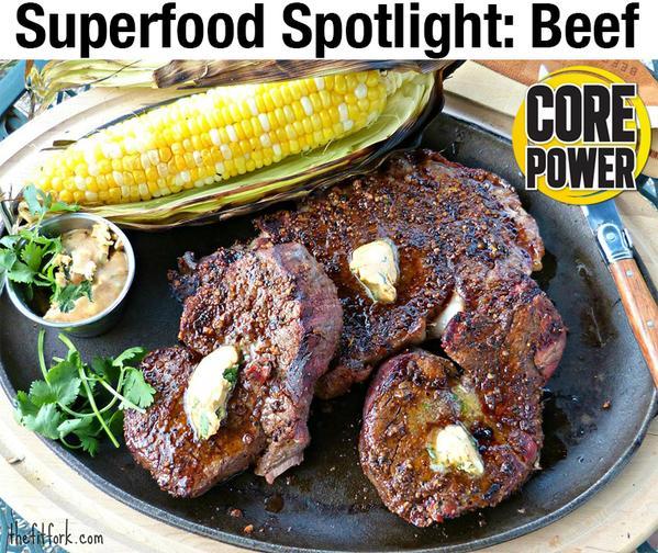 Beef - Superfood for Super Athletes - TheFitFork.com