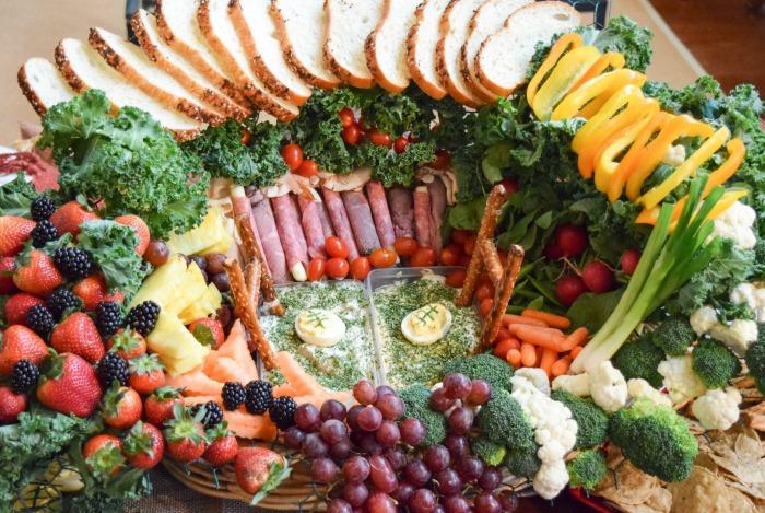 Healthy Snack Stadium - TheFitFork.com