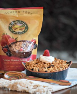 walmart gf natures path berry breakfast crisp