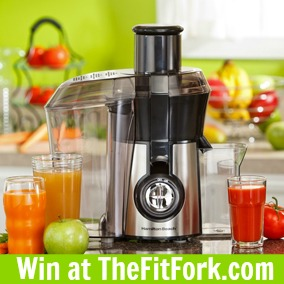 Hamilton Beach Big Mouth Juice Extractor -- Win at TheFitFork.com