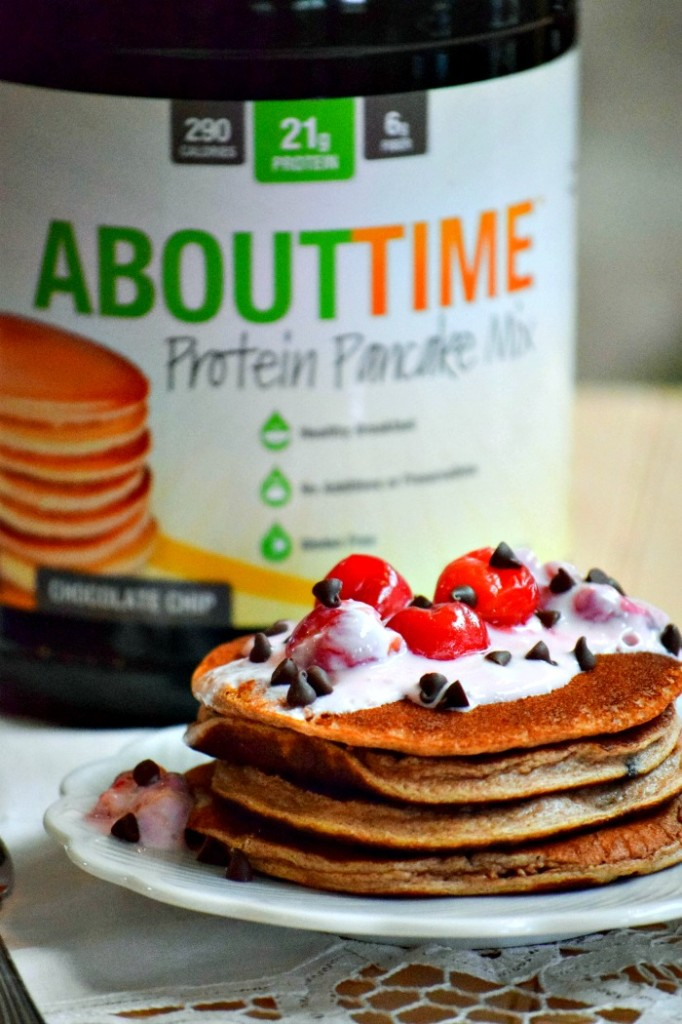About Time Protein Pancakes - TheFitFork.com