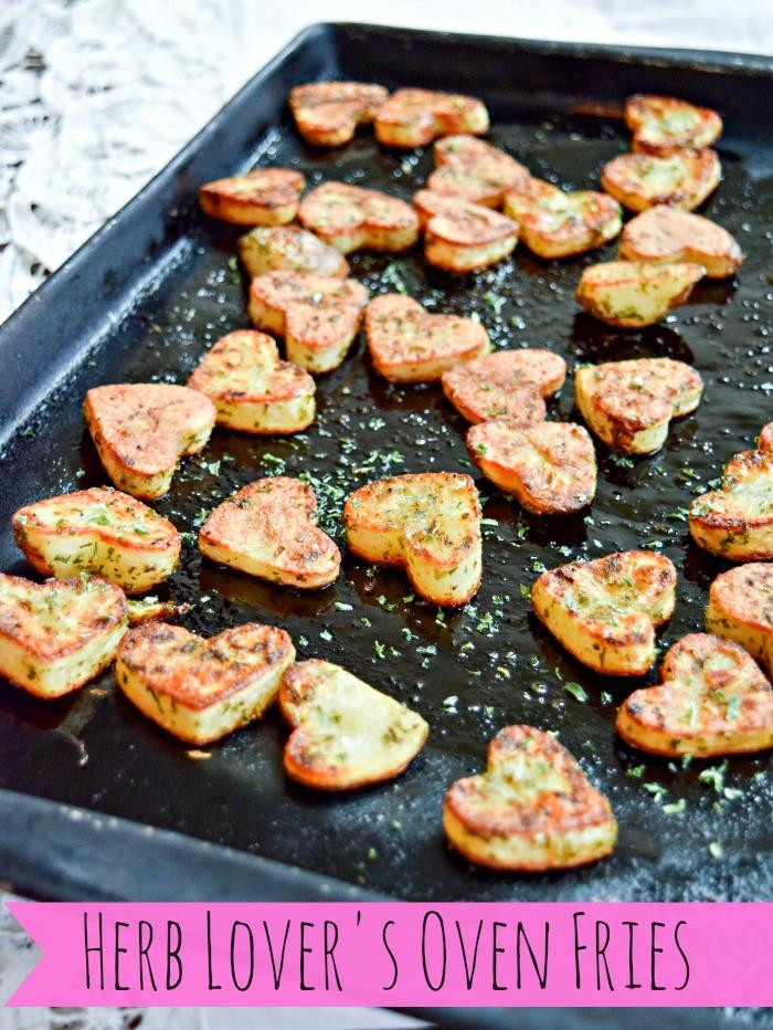Baked Potato Fries - TheFitFork.com