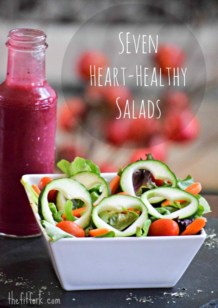 Seven Heart-Healthy Salads - TheFitFork.com