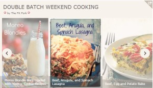 Double Batch Weekend Cooking Recipes - TheFitFork.com