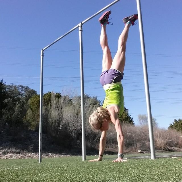Handstand - TheFitFork.com