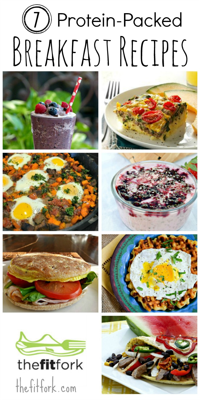 Seven Protein Packed Breakfast Recipes