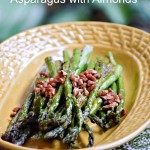 Olive Oil Roasted Asparagus with Almonds